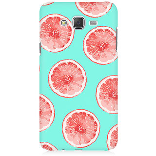 RAYITE Citrus Pattern Premium Printed Mobile Back Case Cover For Samsung J1 2016 Version