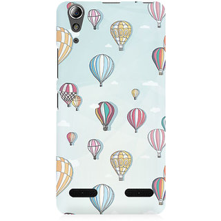 RAYITE Balloon Abstract Premium Printed Mobile Back Case Cover For Lenovo A6000