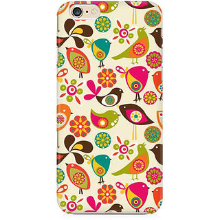 RAYITE Birds Pattern Preum Printed Mobile Back Case Cover For   6 Plus/6s Plus