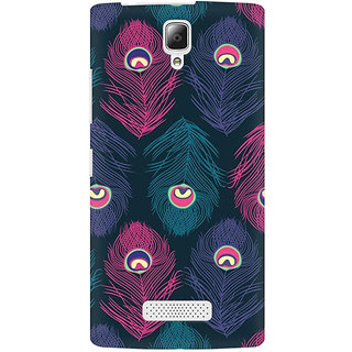 RAYITE Mor Pankh Premium Printed Mobile Back Case Cover For Lenovo A2010
