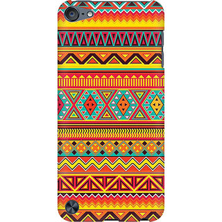 RAYITE Embroidery Print Preum Printed Mobile Back Case Cover For  IPod Touch 5