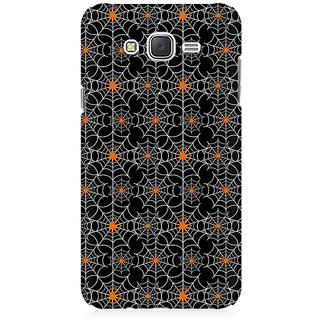RAYITE Spider Webs Pattern Premium Printed Mobile Back Case Cover For Samsung J2
