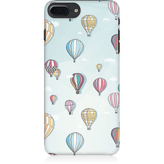 RAYITE Balloon Abstract Preum Printed Mobile Back Case Cover For   7 Plus