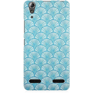 RAYITE Vintage Pattern Premium Printed Mobile Back Case Cover For Lenovo A6000