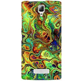 RAYITE Abalone Premium Printed Mobile Back Case Cover For Lenovo A2010