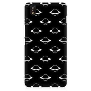 RAYITE Planets Pattern Premium Printed Mobile Back Case Cover For OnePlus X