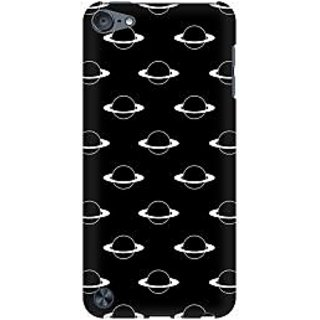 RAYITE Planets Pattern Premium Printed Mobile Back Case Cover For Apple IPod Touch 5