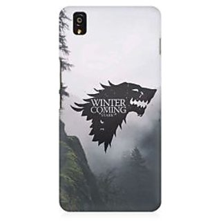 RAYITE Winter Is Coming Stark Premium Printed Mobile Back Case Cover For OnePlus X