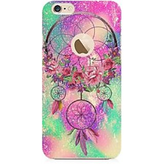 RAYITE Dream Catcher Premium Printed Mobile Back Case Cover For Apple IPhone 6-6s With Apple Hole