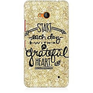 RAYITE Start Each Day Premium Printed Mobile Back Case Cover For Nokia Lumia 640