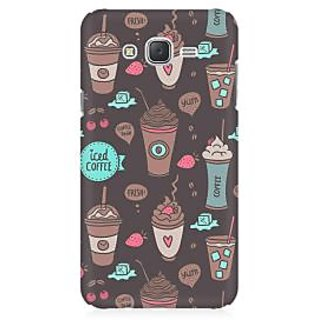 RAYITE Coffe Love Premium Printed Mobile Back Case Cover For Samsung J1 2016 Version
