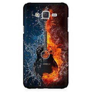 RAYITE Guitar Premium Printed Mobile Back Case Cover For Samsung J1 2016 Version