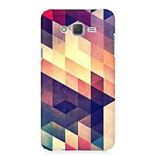 RAYITE Geometric Abstract Art Premium Printed Mobile Back Case Cover For Samsung J2