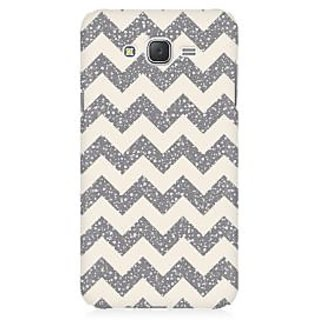 RAYITE Sky Chevron Pattern Premium Printed Mobile Back Case Cover For Samsung J2
