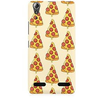 RAYITE Pizza Pattern Premium Printed Mobile Back Case Cover For Lenovo A6000