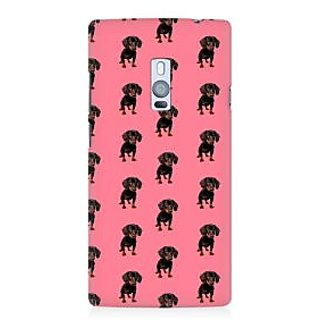 RAYITE Small Puppy Premium Printed Mobile Back Case Cover For OnePlus Two