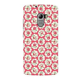 RAYITE Rose Flower Pattern Premium Printed Mobile Back Case Cover For Lenovo A7010