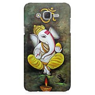 RAYITE Ganesha Premium Printed Mobile Back Case Cover For Samsung J3