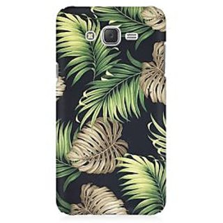 RAYITE Tropical Leafs Premium Printed Mobile Back Case Cover For Samsung J3