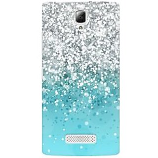 RAYITE Glitter Print Pattern Premium Printed Mobile Back Case Cover For Lenovo A2010