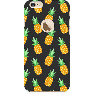 RAYITE Geometric Pine Preum Printed Mobile Back Case Cover For   6-6s With  Hole