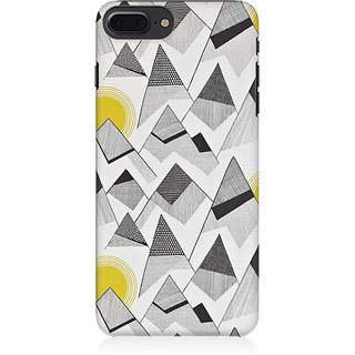 RAYITE Black And White Sketch Preum Printed Mobile Back Case Cover For   7 Plus