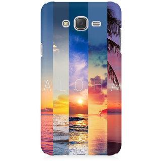 RAYITE Aloha Premium Printed Mobile Back Case Cover For Samsung J2