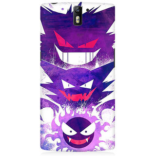 RAYITE Toon Devils Premium Printed Mobile Back Case Cover For OnePlus One