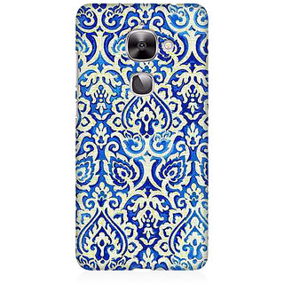 RAYITE Vintage Geometric Premium Printed Mobile Back Case Cover For LeEco Le 2