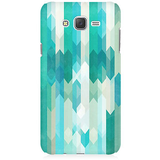 RAYITE Icy Chevron Pattern Premium Printed Mobile Back Case Cover For Samsung J5 2016 Version