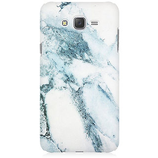 RAYITE Ice Marble Granite Premium Printed Mobile Back Case Cover For Samsung J5