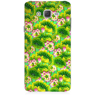 RAYITE Tropical Floral Premium Printed Mobile Back Case Cover For Samsung J1 2016 Version