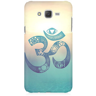 RAYITE Om Print Premium Printed Mobile Back Case Cover For Samsung J2