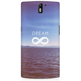 RAYITE Dream Premium Printed Mobile Back Case Cover For OnePlus One