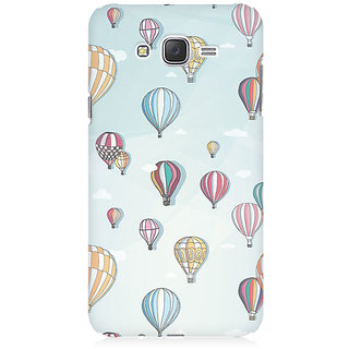 RAYITE Balloon Pattern Premium Printed Mobile Back Case Cover For Samsung J1 2016 Version