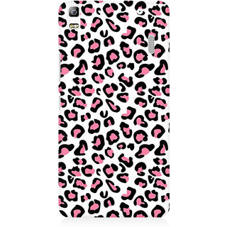 RAYITE Pink Cheetah Pattern Premium Printed Mobile Back Case Cover For Lenovo K3 Note