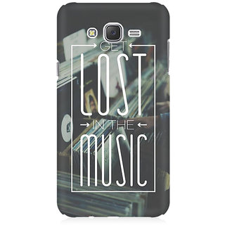 RAYITE Lost In The Music Premium Printed Mobile Back Case Cover For Samsung J5 2016 Version