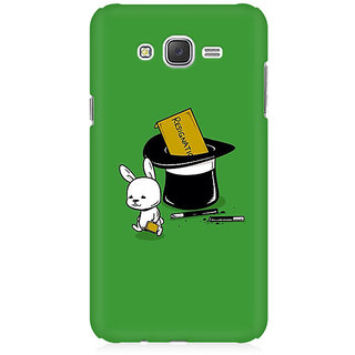 RAYITE Resignation By Rabbit Premium Printed Mobile Back Case Cover For Samsung J1 Ace