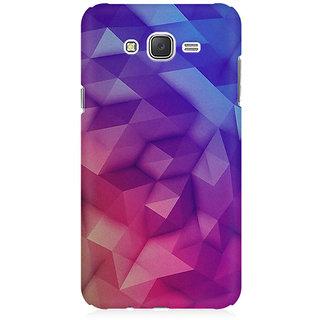 RAYITE 3D Geometric Art Premium Printed Mobile Back Case Cover For Samsung J5