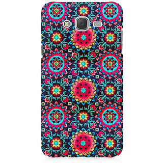RAYITE Beautiful Mandala Pattern Premium Printed Mobile Back Case Cover For Samsung J1 Ace