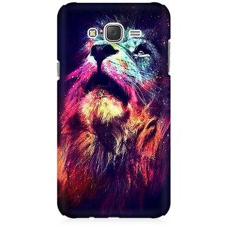 RAYITE Dream Lion Premium Printed Mobile Back Case Cover For Samsung J5