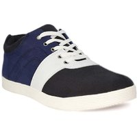 Blue Pop Men Navy Lace-up Casual Shoes