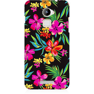 RAYITE Dark Watercolor Floral Premium Printed Mobile Back Case Cover For Coolpad Note 3 Lite