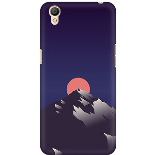 RAYITE Sunset Scenery Premium Printed Mobile Back Case Cover For Oppo A37