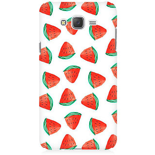 RAYITE Watermelon Pattern Premium Printed Mobile Back Case Cover For Samsung J2