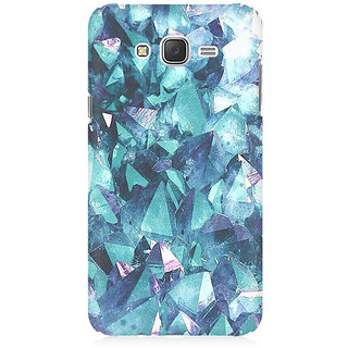 RAYITE Blue Granite Premium Printed Mobile Back Case Cover For Samsung J5 2016 Version