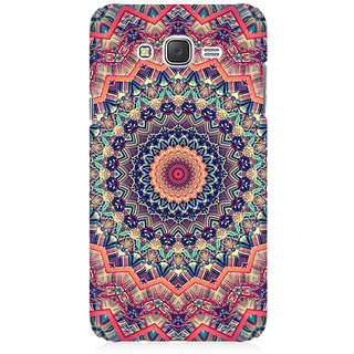 RAYITE Mandala Illusion Premium Printed Mobile Back Case Cover For Samsung J2