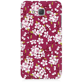 RAYITE Floral Climber Premium Printed Mobile Back Case Cover For Samsung J2