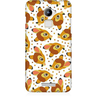 RAYITE Deer Pattern Premium Printed Mobile Back Case Cover For Coolpad Note 3 Lite