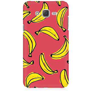 RAYITE Banana Fruity Pattern Premium Printed Mobile Back Case Cover For Samsung J5 2016 Version